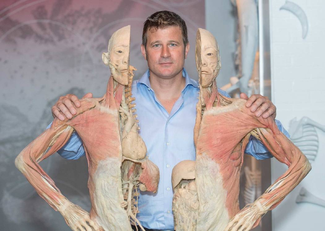 Tom Zaller, CEO, Imagine Exhibitions, created the Real Bodies show at Bally's (Tom Donoghue)