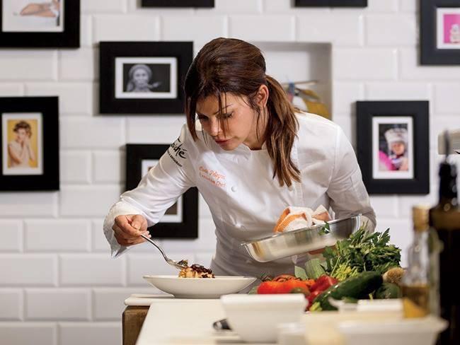 Chef Carla Pellegrini. (Courtesy)
