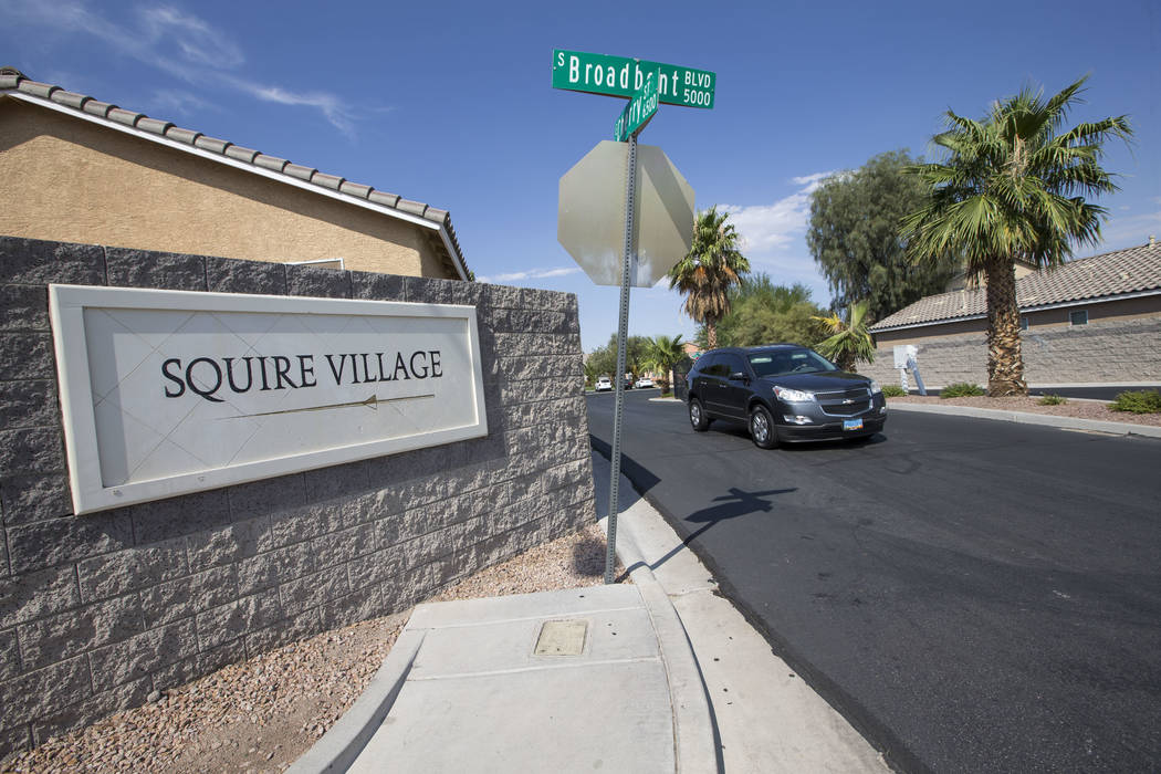 The Squire Village in Las Vegas on Thursday, July 13, 2017. Richard Brian Las Vegas Review-Journal @vegasphotograph