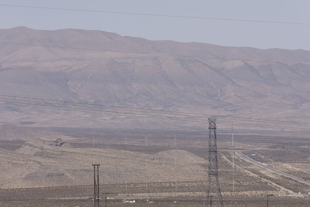Apex Industrial Park near U.S. 93 and Interstate 15 in North Las Vegas is seen, Wednesday, Oct. 12, 2016. Jason Ogulnik Las Vegas Review-Journal