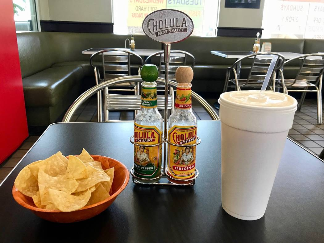 Fun Tacos on South Rainbow Boulevard is open from 7 a.m. to 10 p.m. every day, while its drive-through is open 24 hours a day. Dine-in orders receive a complimentary bowl of seasoned tortilla chip ...