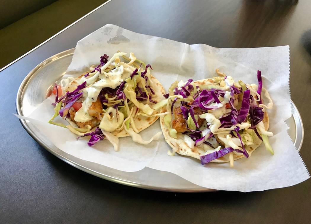 Choose between hard or soft-shelled tacos filled with fried fish, grilled shrimp, chicken, steak, pork or lengua. (Madelyn Reese/View) @MadelynGReese