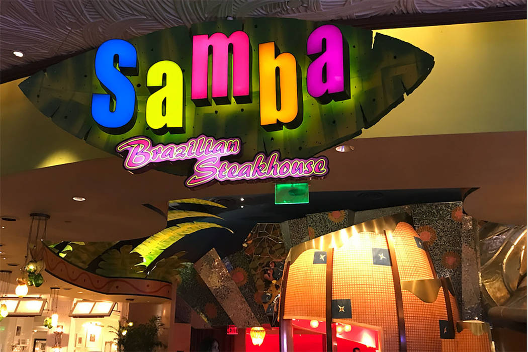 Samba Brazilian Steakhouse will close Thursday, Aug. 31, 2017. (Instagram)