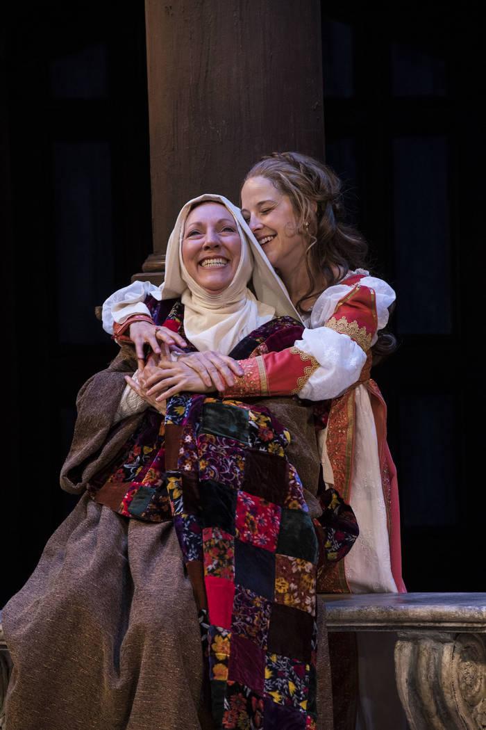 """A scene from """"Romeo and Juliet"""" at the Utah Shakespeare Festival. Credit: Karl Hugh/Utah Shakespeare Festival"""