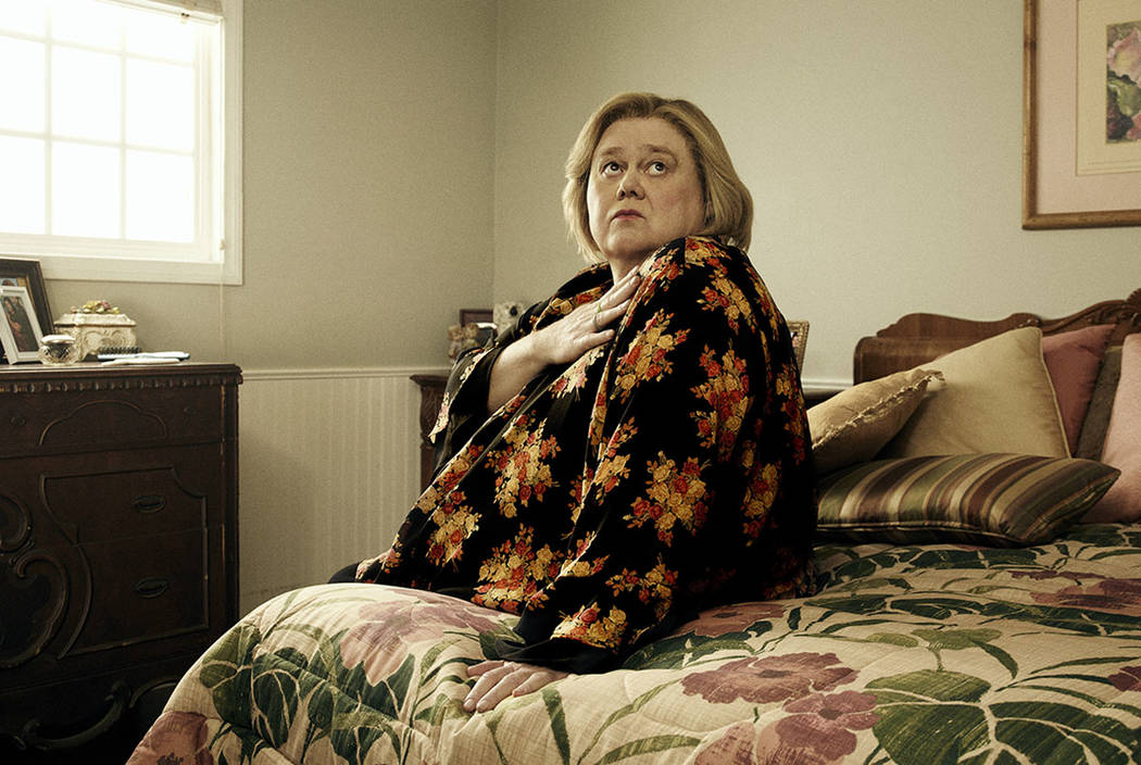 "Louie Anderson as Christine Baskets in ""Baskets."" (Pamela Littky/FX)"