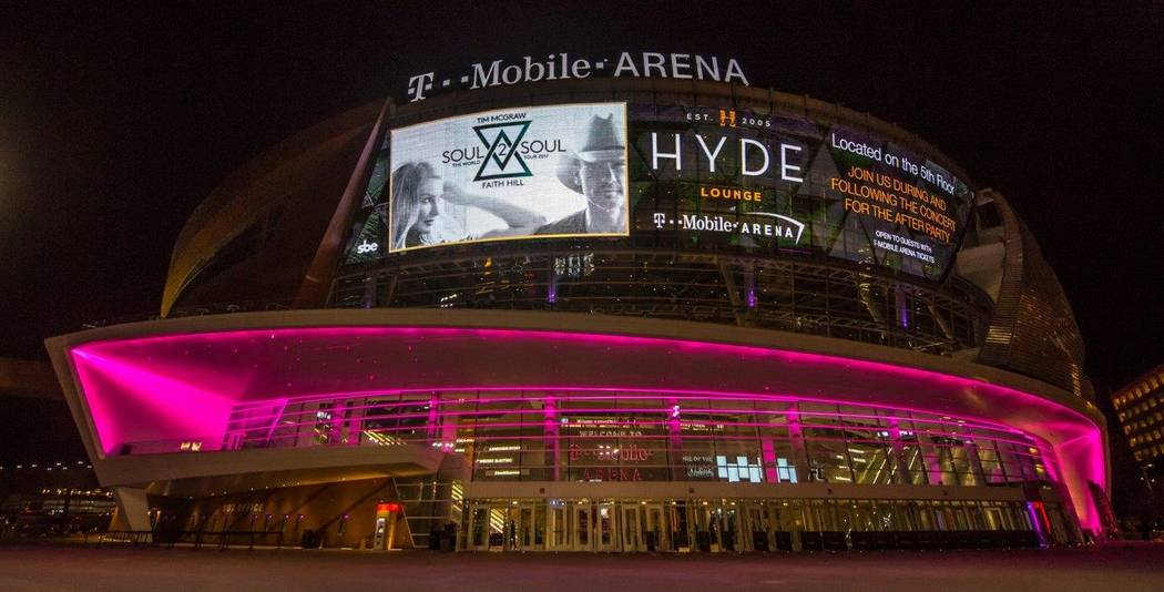 T-Mobile Arena. (Tom Donoghue)
