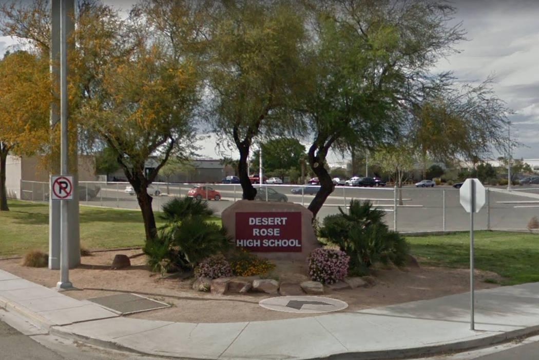 Desert Rose High School (Google Streetview)