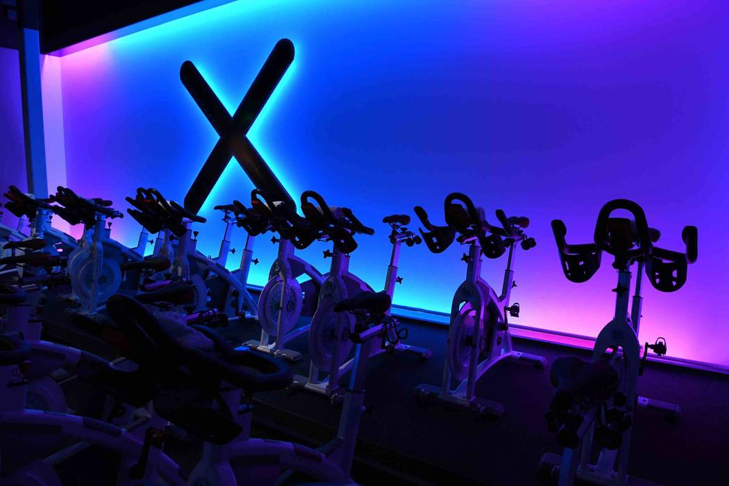 XCYCLE Las Vegas in Boca Park Summerlin. (Denise Truscello)