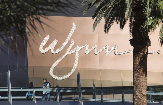 The Wynn hotel-casino is shown at the Las Vegas Strip. Loren Townsley/Las Vegas Review-Journal Follow @lorentownsley