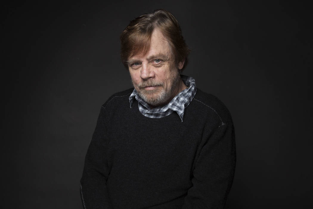 "Actor Mark Hamill poses for a portrait to promote the film, ""Brigsby Bear"", at the Music Lodge during the Sundance Film Festival in Park City, Utah on Jan. 23, 2017. Hamill and Carrie Fisher were  ..."