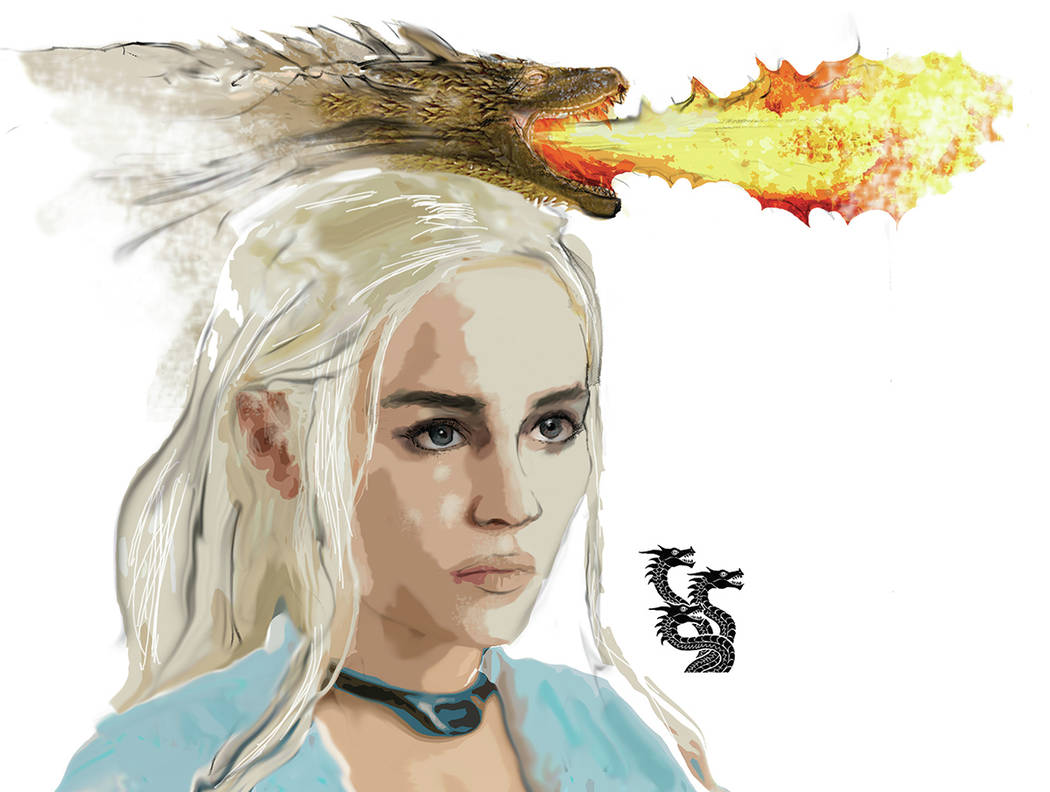 Daenerys Targaryen. Severiano Galvan Las Vegas Review-Journal