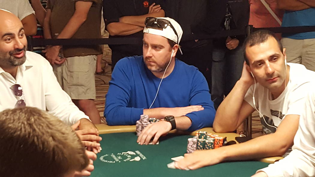 Antoine Saout of France is one of a handful of competitors looking to return to the final table of the World Series of Poker's $10,000 buy-in No-limit Texas Hold 'em World Championship at the Ri ...