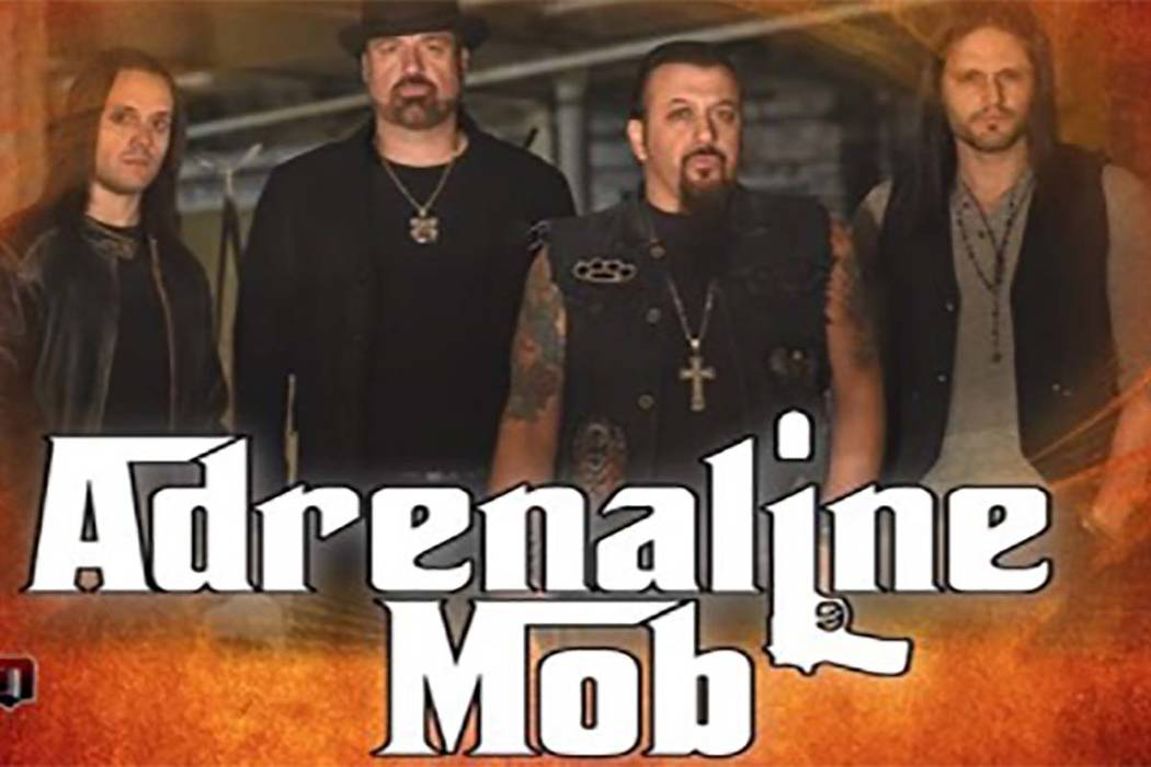 Adrenaline Mob played July 6 at Beauty Bar in Las Vegas. (Facebook)