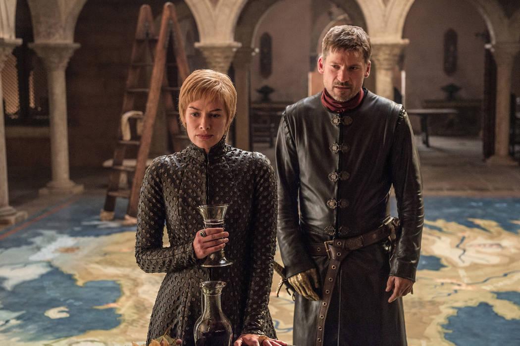 "Lena Headey and Nikolaj Coster-Waldau star in ""Game of Thrones"" on HBO. (Helen Sloan/HBO)"