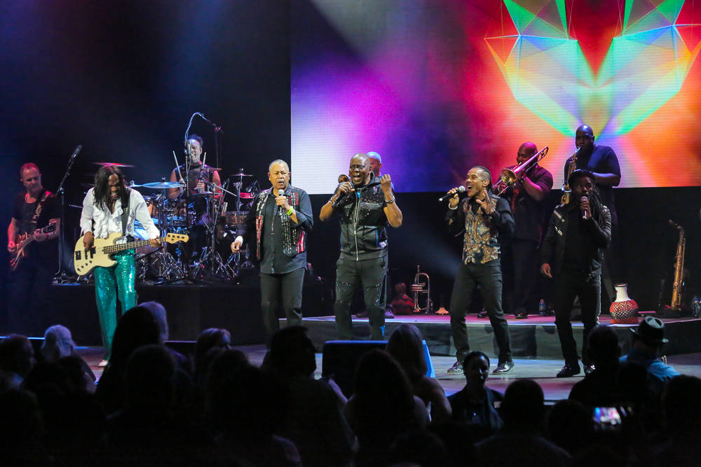 Earth Wind & Fire blew the roof off The Pearl Concert Theatre. (Edison Graff)