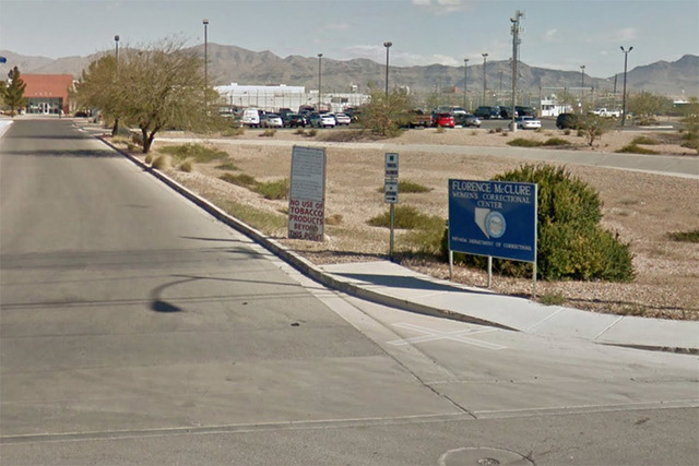 The Florence McClure Women's Correctional Center at 4370 Smiley Rd in Las Vegas. (Screengrab/Google Street View)