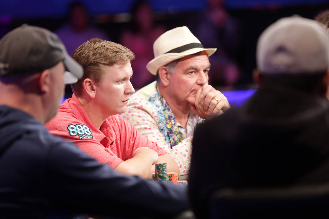 Final table of 9 set for world series of poker main event las vegas review journal - Final table world series of poker ...