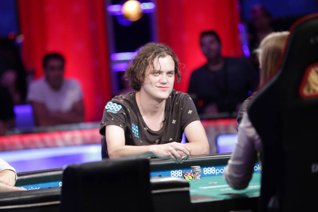 Final table of 9 set for World Series of Poker Main Event