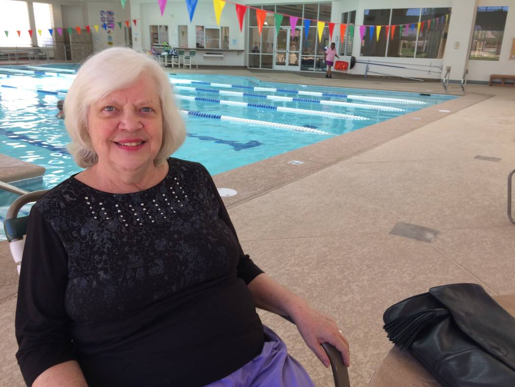 Sun City woman warns of infection risk at pools | Las Vegas