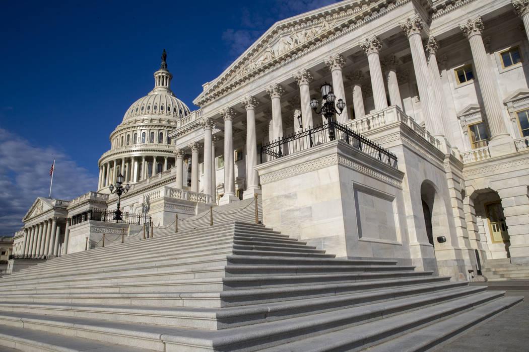 The U.S. Senate on Capitol Hill in Washington, D.C., June 27, 2017. (J. Scott Applewhite/AP)