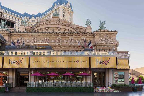 Hexx Kitchen & Bar restaurant at Paris Las Vegas. (Anthony Mair)
