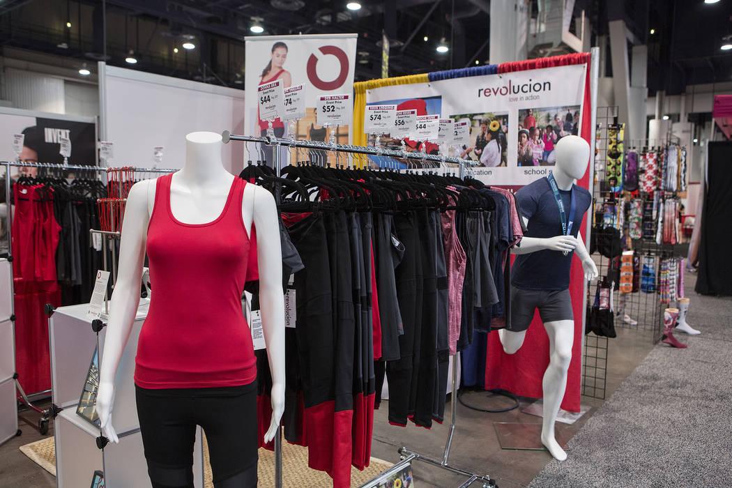 during the IDEA World Fitness & Nutrition Expo at the Las Vegas Convention Center in Las Vegas on Thursday, July 20, 2017. (Bridget Bennett/Las Vegas Review-Journal) @bridgetkbennett