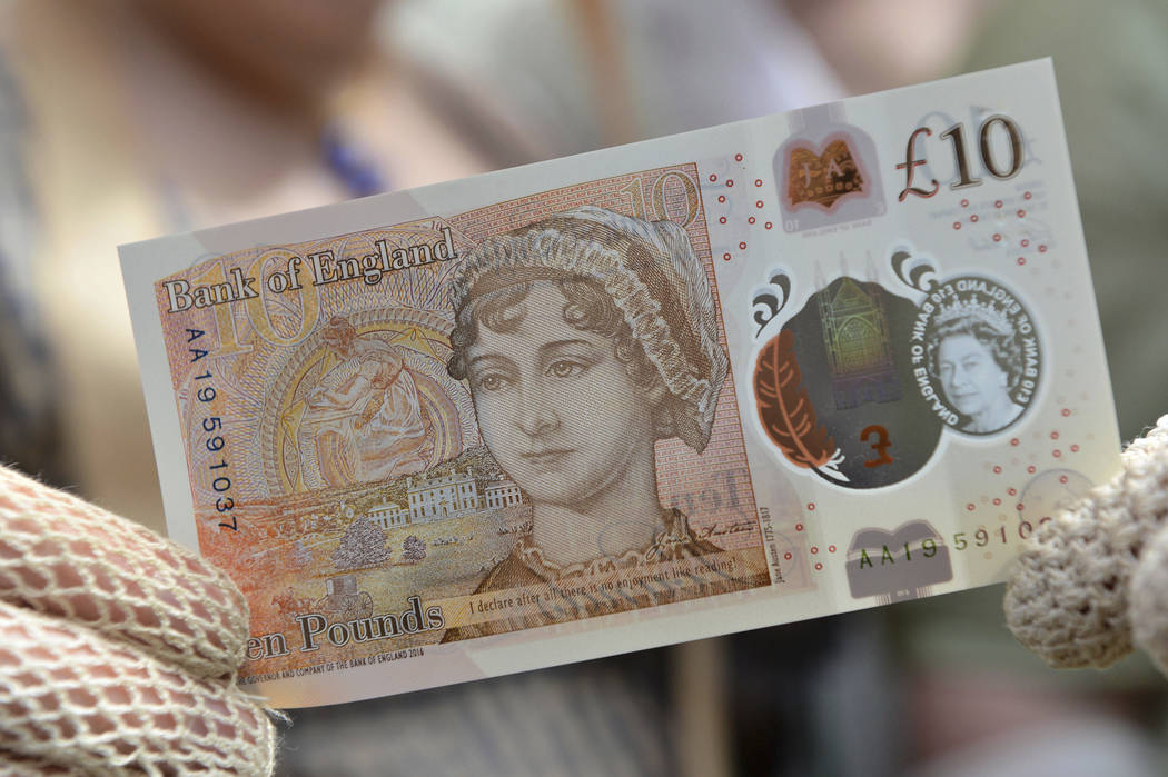 Jane Austin to be featured on British currency