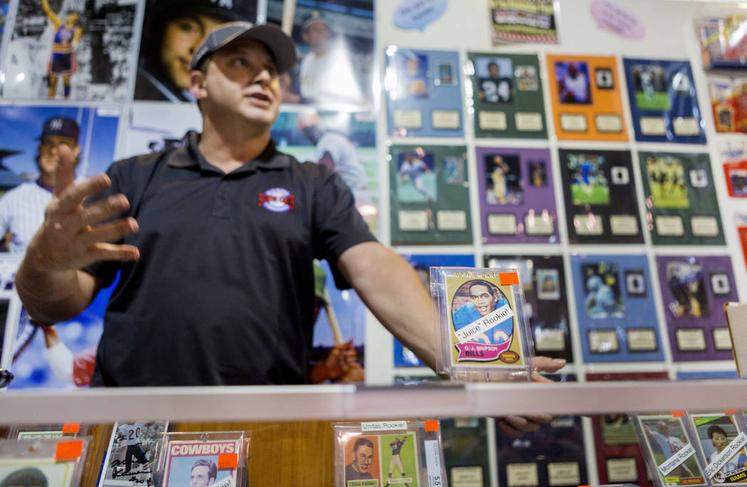 Ultimate Sports Cards And Memorabilia - Downtown - Las ...