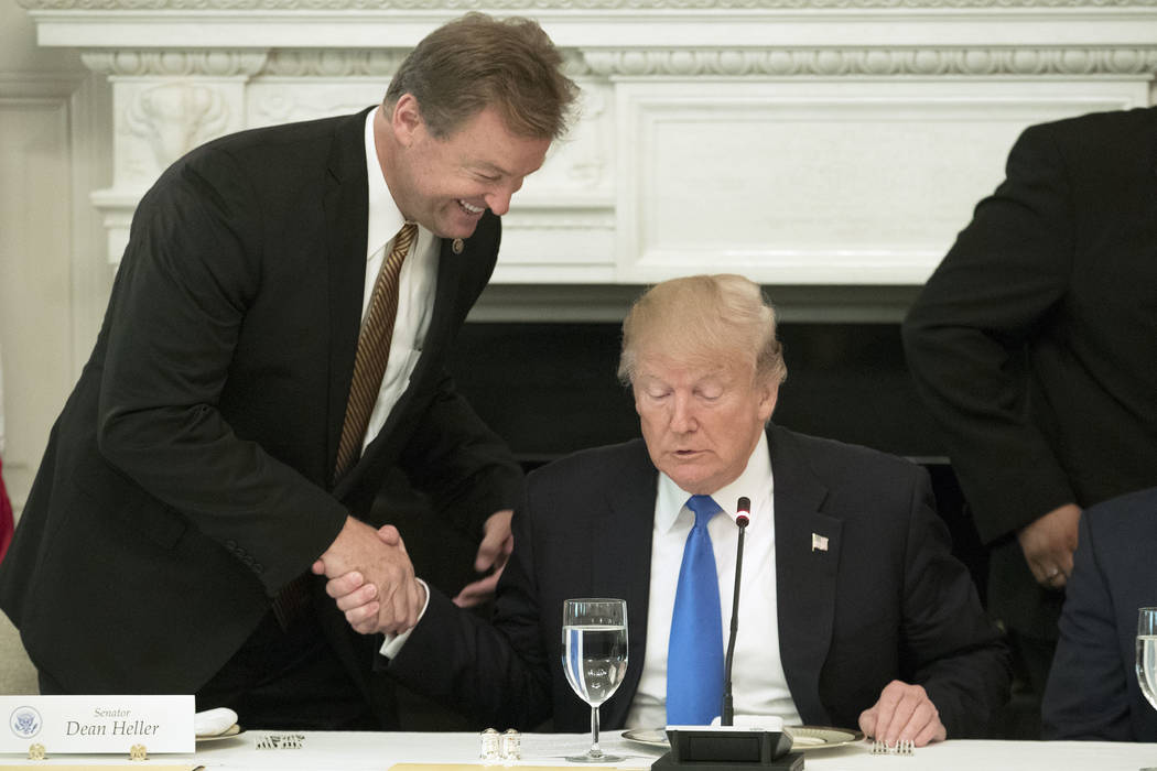 after taking his seat to deliver remarks on health care Donald Trump hosts members Congress at The White House, Washington DC, USA - 19 Jul 2017 Lunch with members of Congress where Trump delivere ...