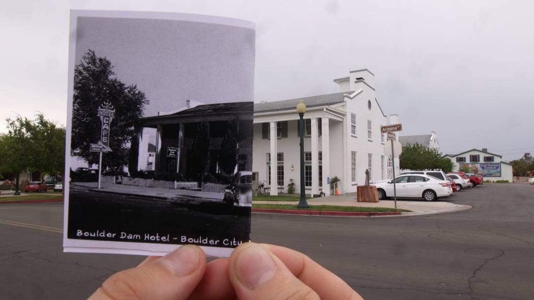 The Boulder Dam Hotel on Wednesday, July 19, 2017, in Boulder City. Rachel Aston Las Vegas Review-Journal @rookie__rae