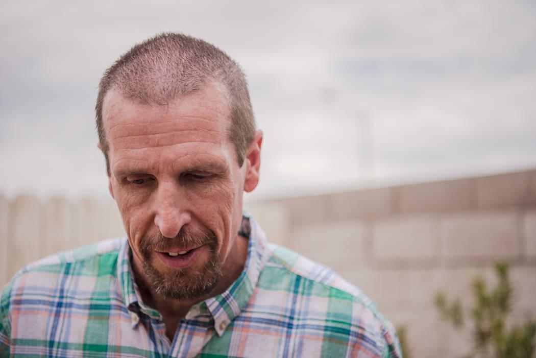 John Cwik at his parent's home in Las Vegas on Thursday, July 20, 2017. Morgan Lieberman Las Vegas Review-Journal