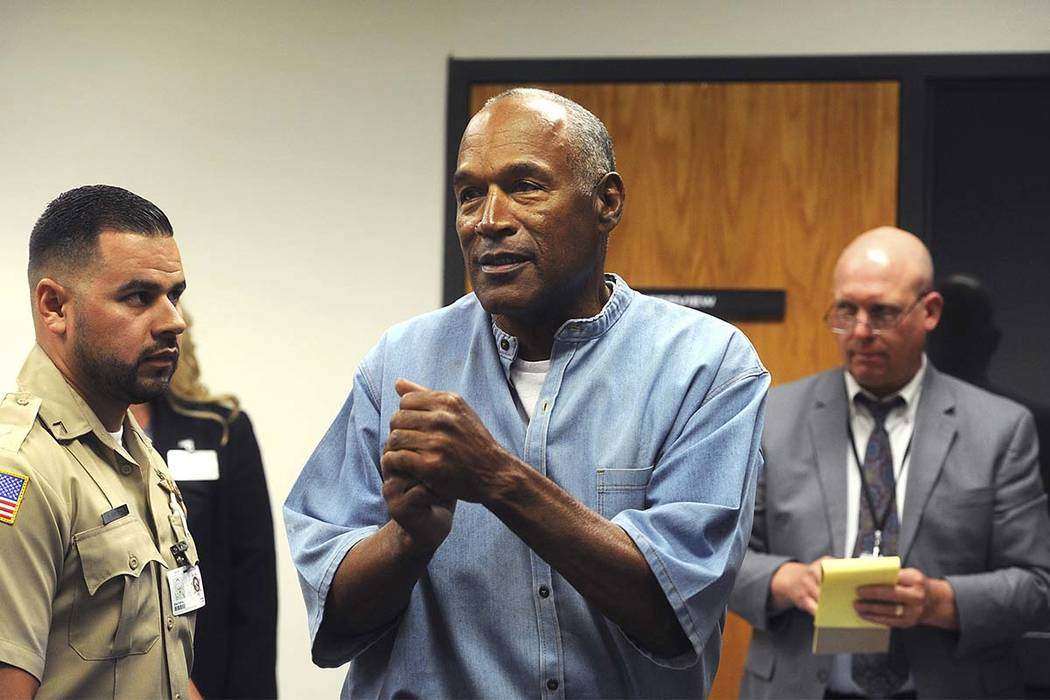 OJ Simpson granted parole in 2007 armed robbery