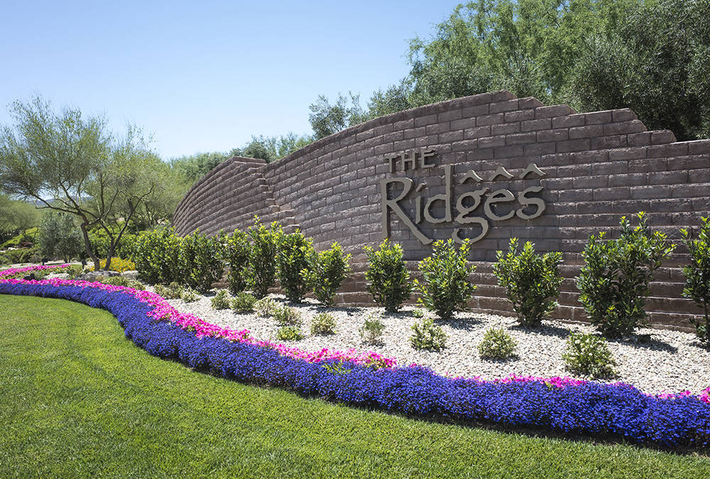 The Ridges, which reaches 4,000 feet above sea level and is known for homes with modern architectural style blended with the desert environment, has been named one of the most exclusive gated comm ...