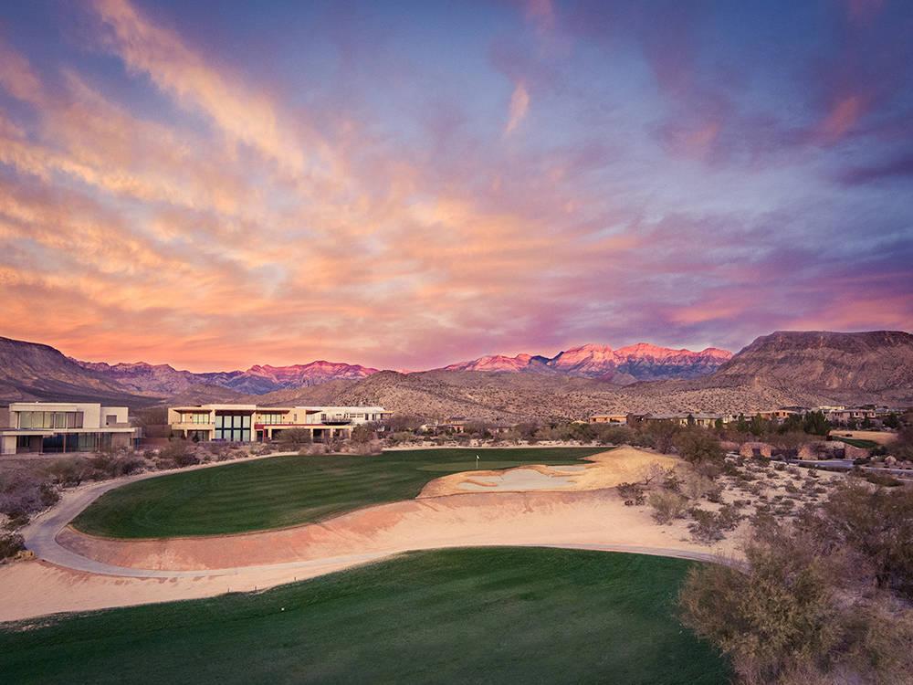 Jack Nicklaus's Bears Best golf course that runs through The Ridges.  (Summerlin)