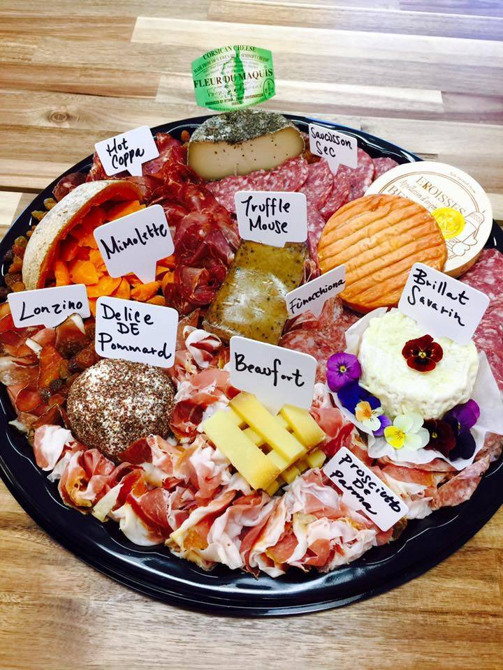 Customers can order customized charcuterie boards for themselves and others based on their tastes and preferences. (Courtesy of Cured & Whey)