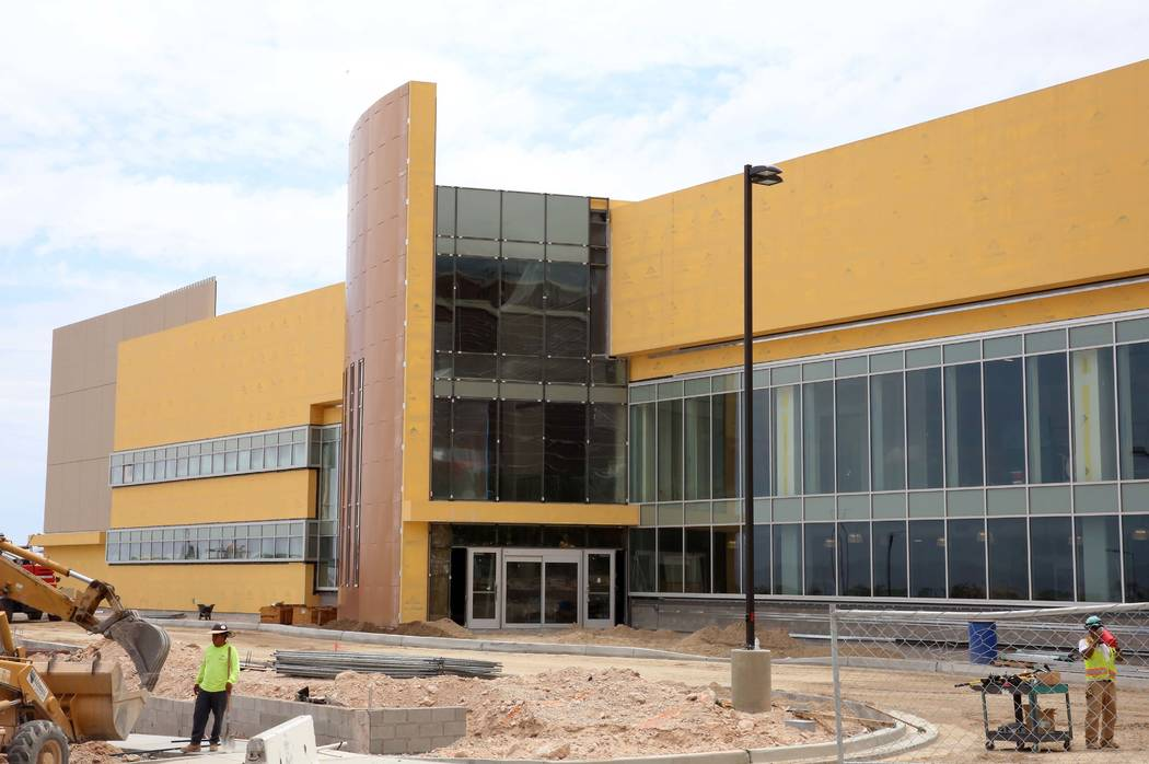 The Golden Knights' headquarters and practice facility on Pavilion Center Drive adjacent to Downtown Summerlin in Las Vegas on Monday, July 24, 2017. Bizuayehu Tesfaye Las Vegas Review-Journal @bi ...