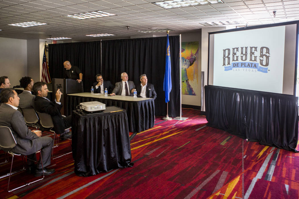 """Chuck Johnson, general manager of the Las Vegas 51s, speaks about a new outreach program geared toward Hispanic and Latino populations and a temporary name change to """"Reyes de Plata,"""" or """"Silver K ..."""