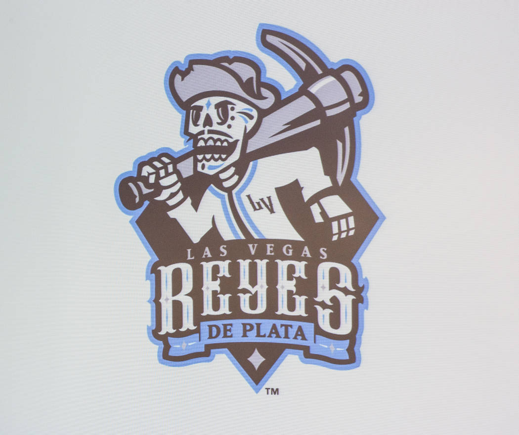 """A new logo for several games in which the Las Vegas 51s will become the  """"Reyes de Plata,"""" or """"Silver Kings,"""" as part of a new outreach program geared toward Hi ..."""