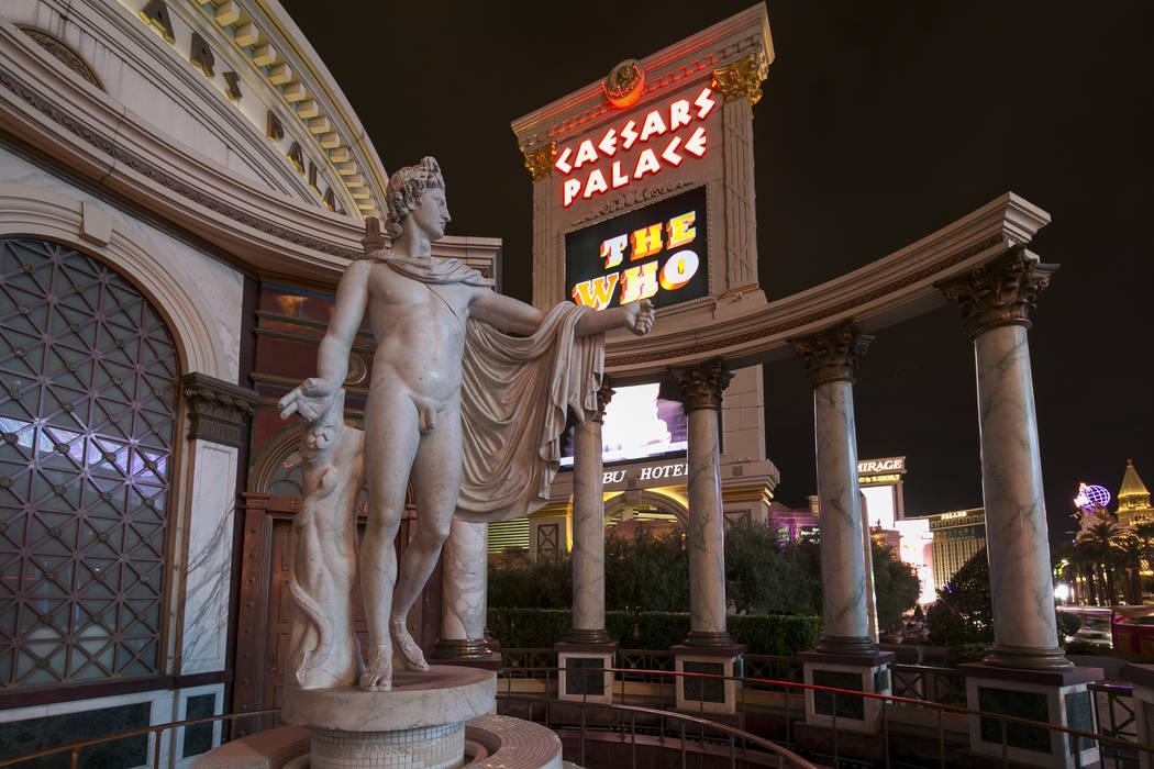 Caesars Palace, Monday, July 24, 2017. (Richard Brian/Las Vegas Review-Journal) @vegasphotograph