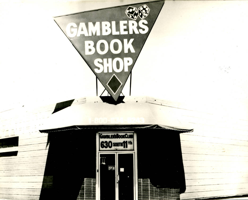An undated photo shows the Gamblers Book Shop at 630 S. 11th St. in Las Vegas. Photo provided by B&P Advertising, Media and Public Relations