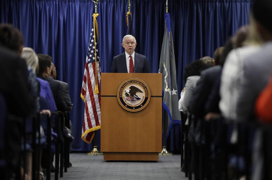 Attorney General Jeff Sessions (Matt Rourke/AP)