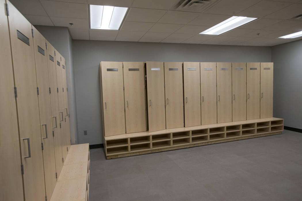 Jr high locker room strip