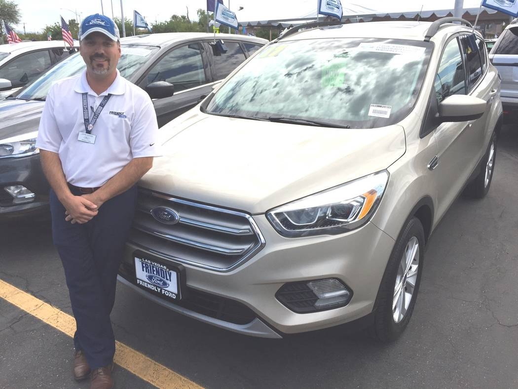 Friendly Ford Friendly Ford sales consultant John Sudol is a big believer in the Ford certified pre-owned vehicle program at the dealership at 660 N. Decatur Blvd.