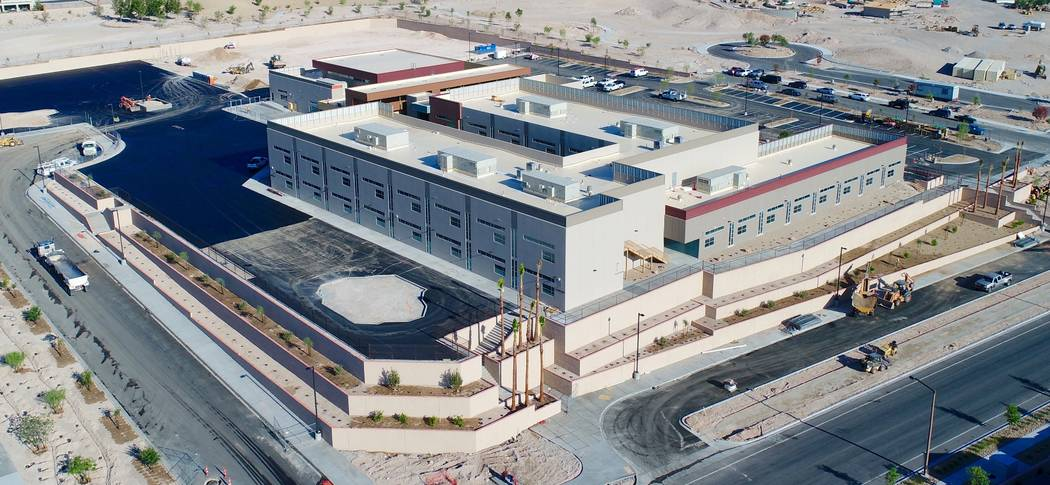 Billy and Rosemary Vassiliadis Elementary School is one of two new public schools in Summerlin that will open for the 2017-18 school year Aug. 14. Vassiliaidis Elemenary School is in the popular P ...