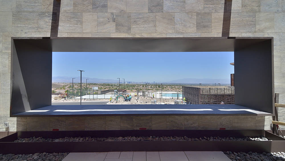 Ascaya highlights its view of the Las Vegas Strip. (Bill Hughes Real Estate Millions)