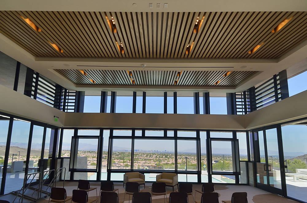 The Ascaya clubhouse has meeting rooms for residents to hold business meetings. (Bill Hughes Real Estate Millions)