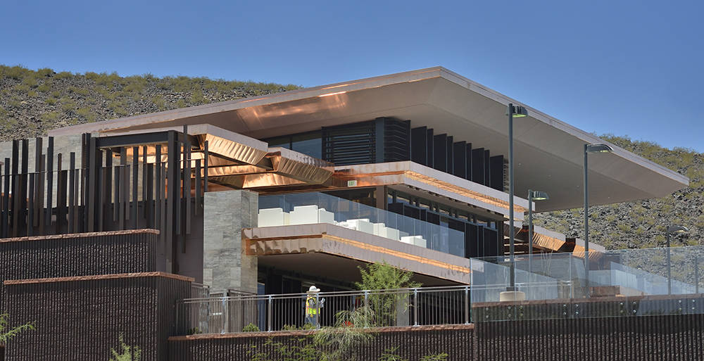 The $25-million Ascaya clubhouse opened in July. (Bill Hughes Real Estate Millions)