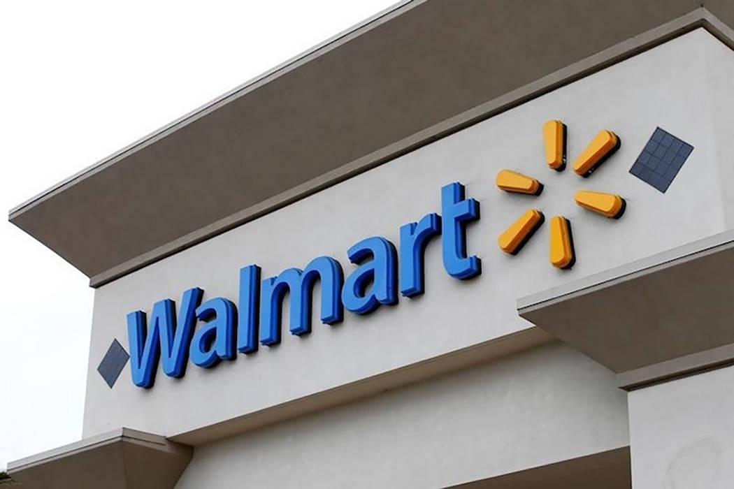 The logo of Walmart is shown on one of its stores in Encinitas, California April 13, 2016. (Mike Blake/Reuters)