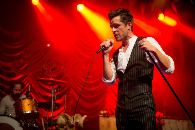 "The Killers perform Friday at Sam's Town Live to celebrate the 10th anniversary of their sophomore album, ""Sam's Town."" (Courtesy Rob Loud)"
