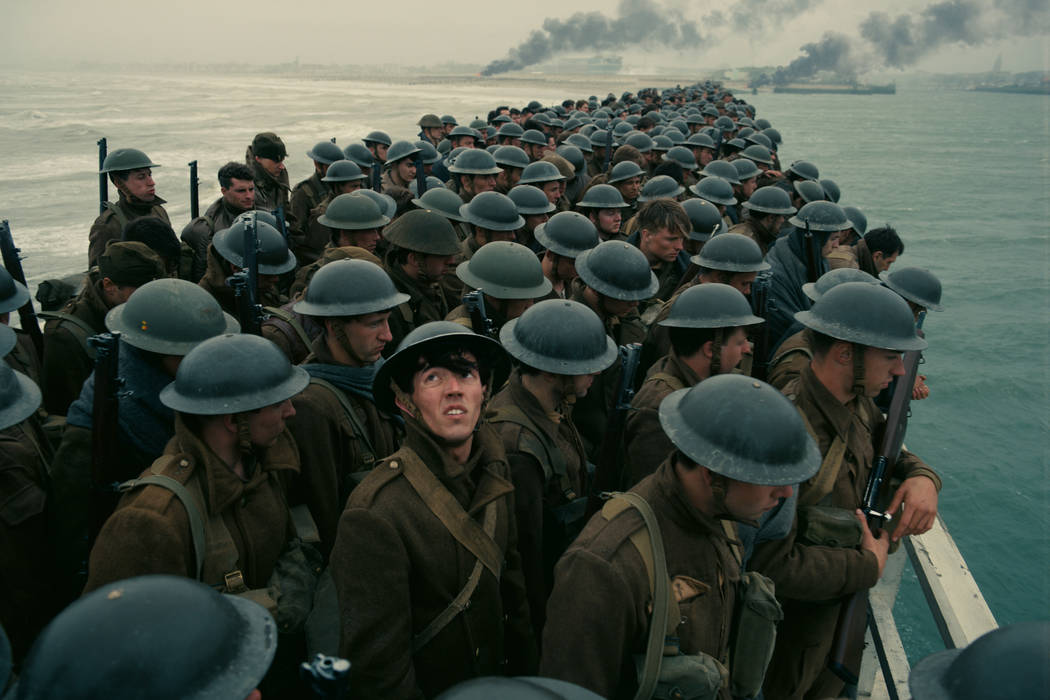 "A scene from the movie ""Dunkirk."" (Warner Bros. Pictures)"